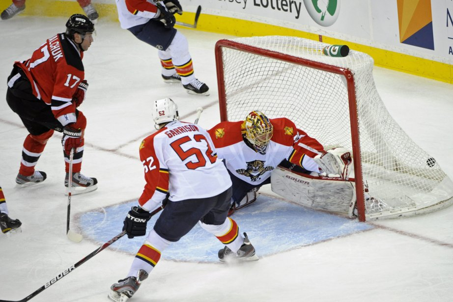 Le joueur des Devils du New Jersey, Ilya... (Photo: Bill Kostroun, AP)