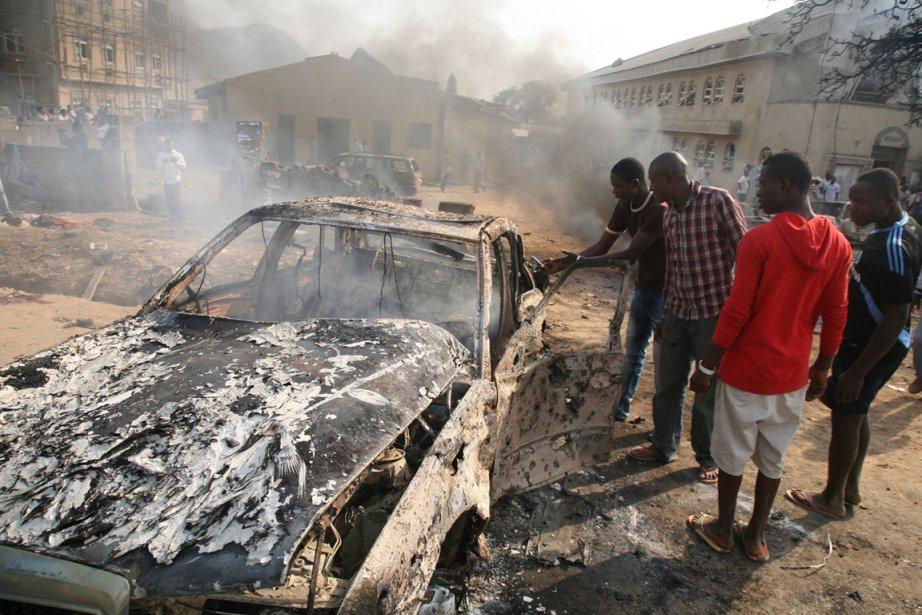 Certaines zones du Nigéria ont été placées sous... (Photo: Sunday Aghaeze, AFP)