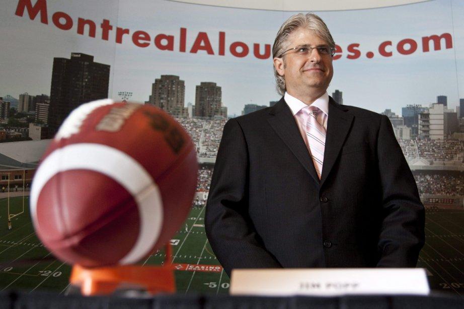 Jim Popp, le directeur général des Alouettes de... (Photo: Paul Chiasson, PC)