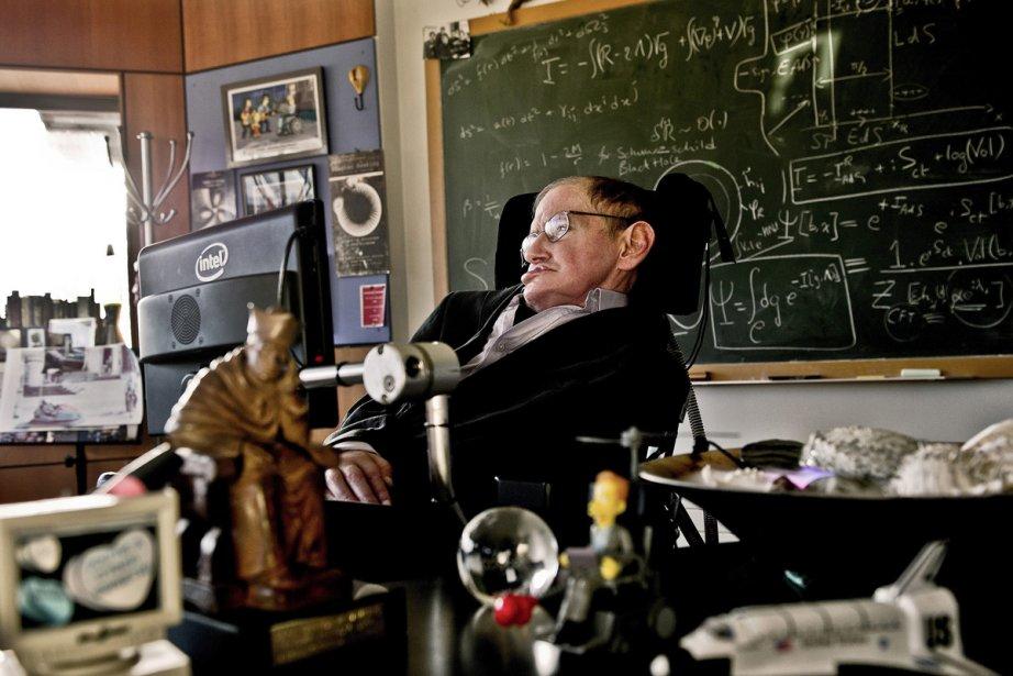 Stephen Hawking a eu 70 ans dimanche.... (Photo: Reuters)