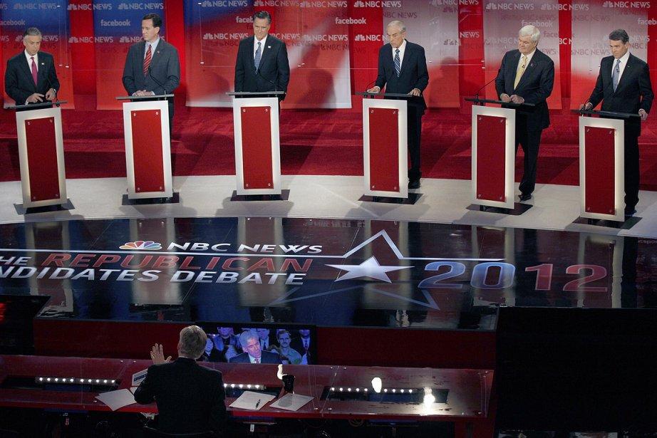Jon Huntsman, Rick Santorum, Mitt Romney, Ron Paul,... (Photo: AP)