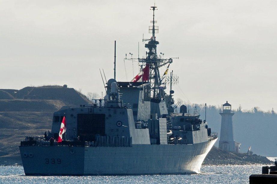 Quelque 250 marins sont partis aujourd'hui d'Halifax afin...