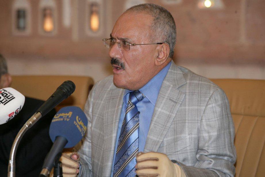 Le président Saleh, décrié pour la répression de... (Photo Reuters)