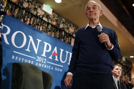Ron Paul est donné 2e dans les intentions... (Photo: Reuters)
