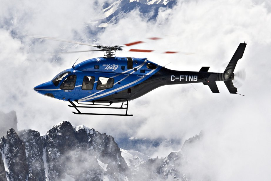 Le Bell 429, de Bell Helicopter, servira à... (Photo: fournie par Bell Helicopter)