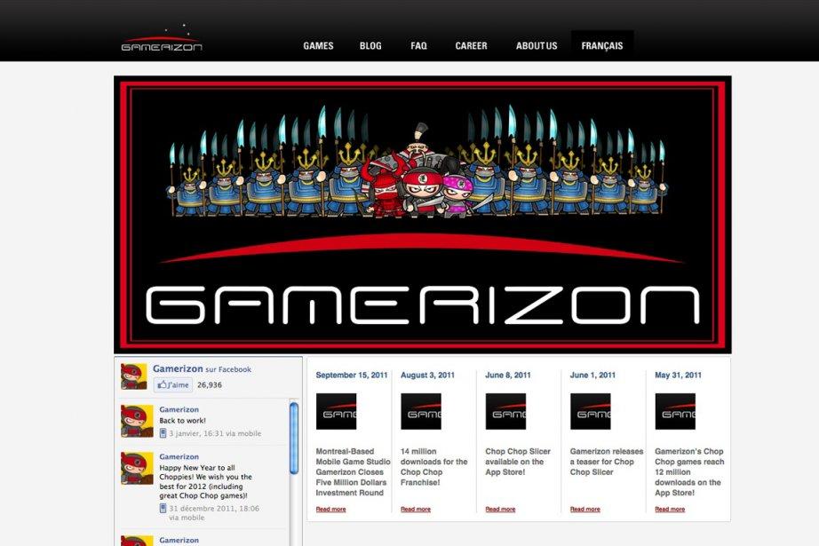 Gamerizon, basée à Montréal, se spécialise dans les... (Photo: capture d'écran)