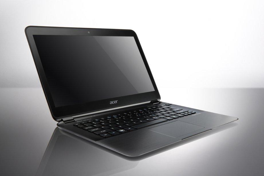 Le nouveau Aspire S5 de la compagnie Acer.... (Photo: AFP)