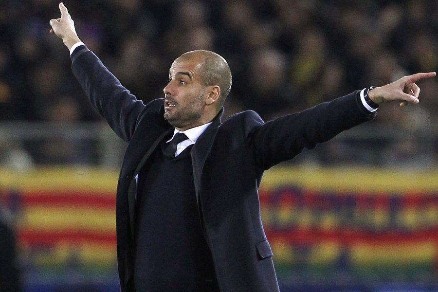 L'entraîneur du FC Barcelone, Josep Guardiola.... (Photo: Reuters)