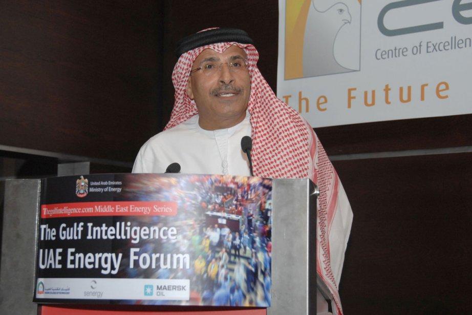 Le ministre émirati de l'Énergie   Mohamed... (photo: AFP)