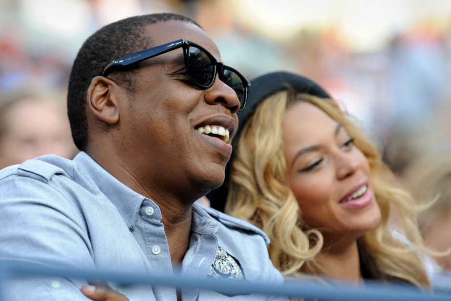 Jay-Z et Beyoncé... (Photo: Stan Honda, Archives Agence France-Presse)
