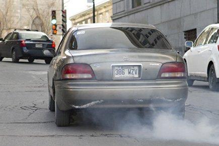 Le programme «Coupez le moteur!», qui vise à... (Photo: David Boily, La Presse)