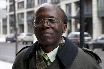 Léon Mugesera à son arrivée enCour fédérale, lundi,... (Photo: PC)