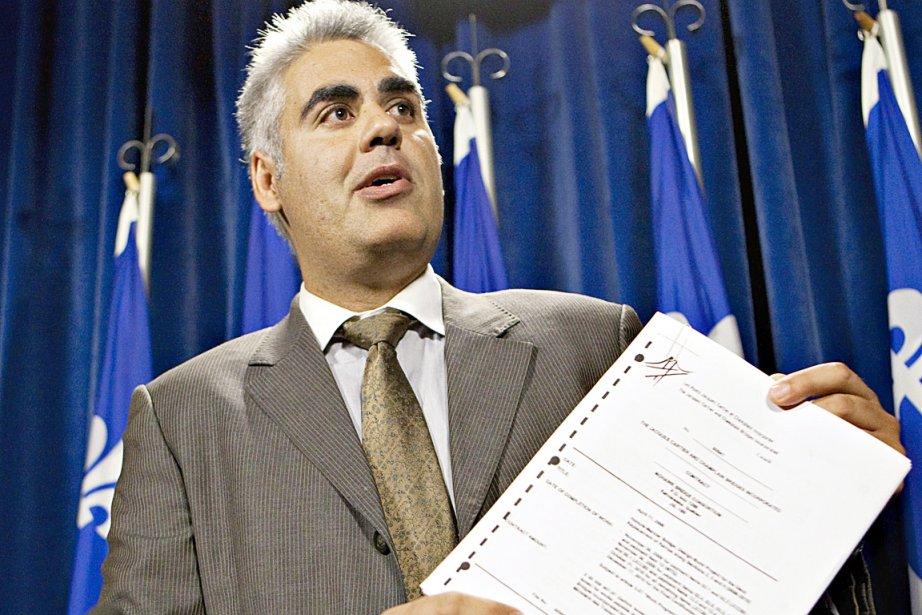 François Rebello... (La Presse Canadienne)