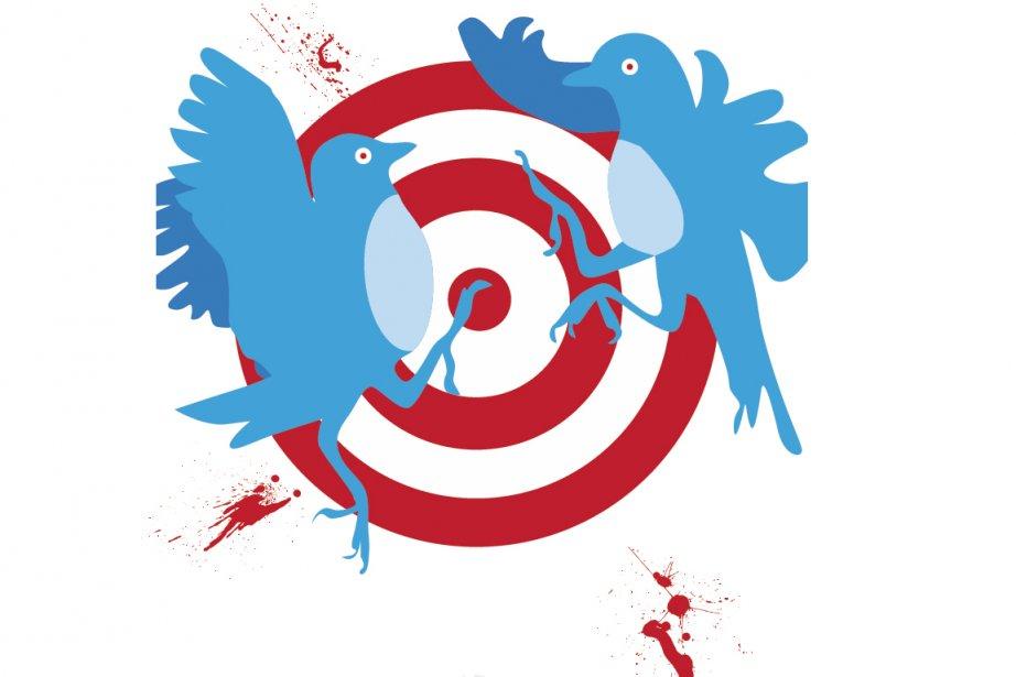 «Tournez votre langue sept fois avant de tweeter.»... (Illustration: La Presse)