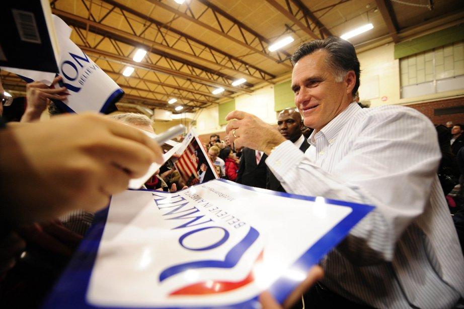 L'ex-gouverneur du Massachusetts, Mitt Romney, part largement favori... (Photo: Emmanuel Dunand, AFP)