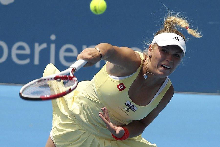 Caroline Wozniacki... (Photo: AP)