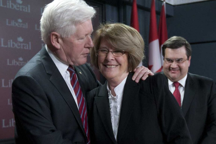 Le chef libéral par intérim, Bob Rae, la... (Photo PC)