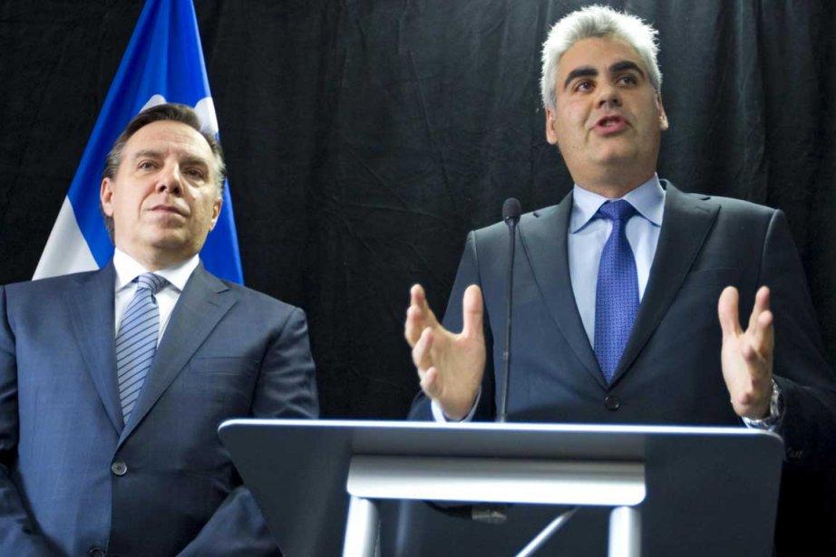 En affirmant que «la porte de la souveraineté... (Photo Alain Roberge, La Presse)