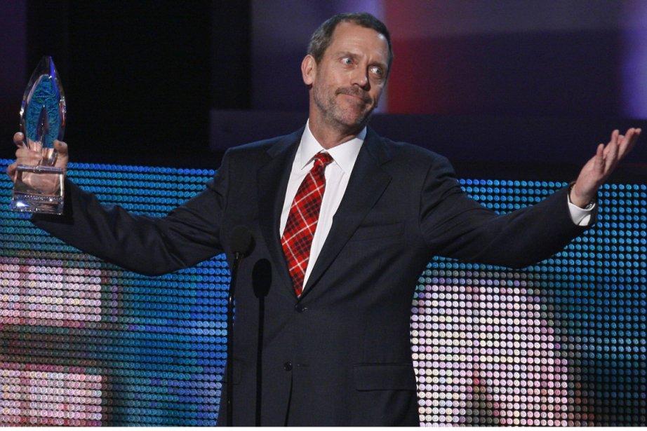 Hugh Laurie a reçu un prix pour son... (Photo: Lucy Nicholson, archives Reuters)
