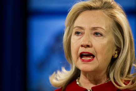 HillaryClinton... (Photo: AFP)