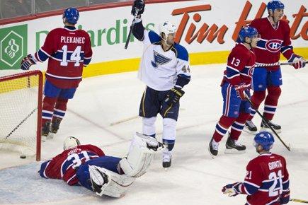 Voici le bulletin des joueurs du Canadien... (Photo: Robert Skinner, La Presse)