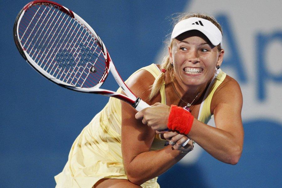 Caroline Wozniacki a été éliminée par Agnieszka Radwanska... (Photo: Reuters)