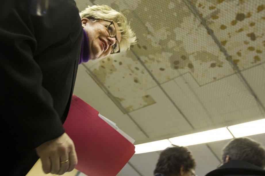 La présidente de la CSDM Diane De Courcy... (Photo: Ivanoh Demers, La Presse)