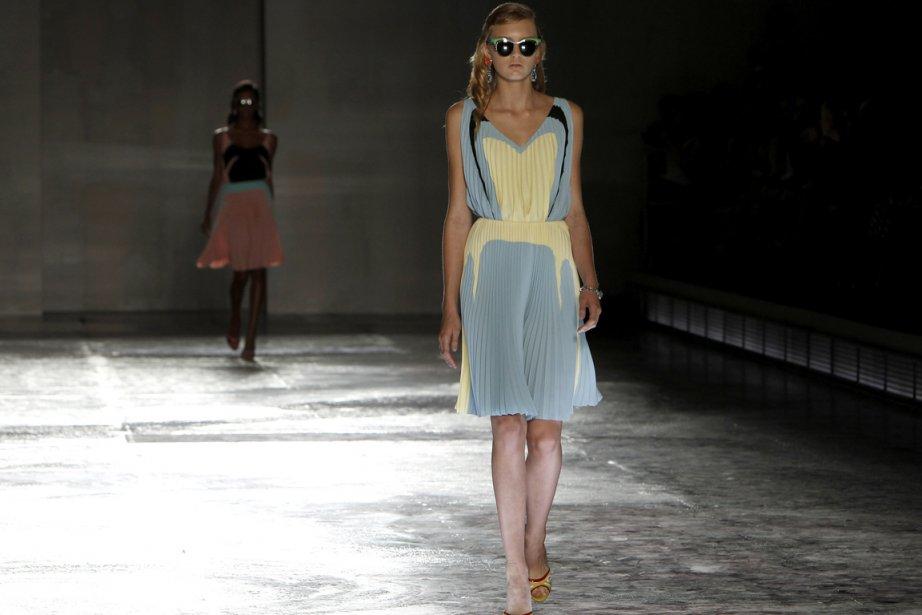 Défilé de Prada à Milan, pour présenter les... (Photo: Reuters)