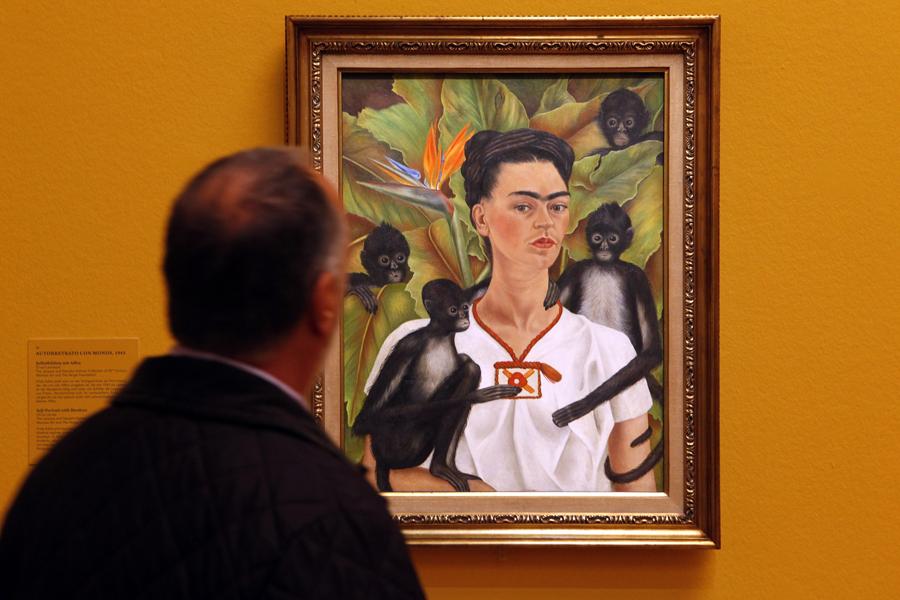 Une toile de Frida Kahlo.... (Photo: AFP)