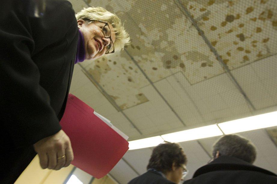 La présidente de la CSDM, Diane De Courcy,... (Photo: Ivanoh Demers, La Presse)