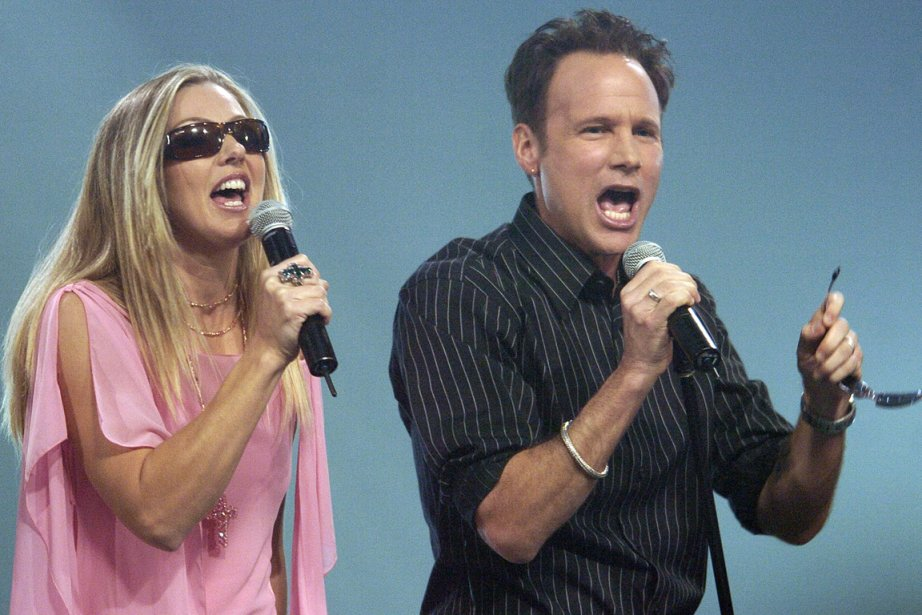 Julie Masse et Corey Hart en duo en... (Photo: Bernard Brault, archives La Presse)