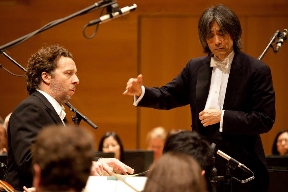 En concert, le baryton Christian Gerhaher et Kent... (Photo fournie par l'OSM)