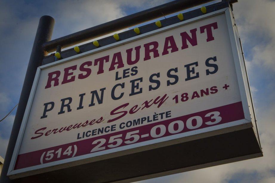 Après le restaurant Les Princesses d'Hochelaga (photo), la... (Photo: André Pichette, Archives La Presse)