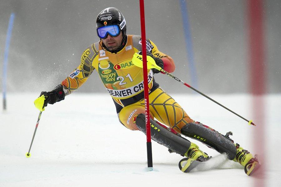 Julien Cousineau s'est déchiré le ligament croisé antérieur... (Photo: AFP)
