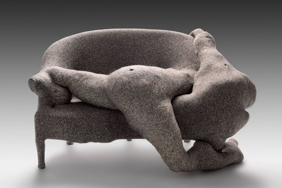 Rainy Day Canape, oeuvre de Helen Lundeberg, sera... (Photo fournie par les musée national des Beaux-Arts du Québec)