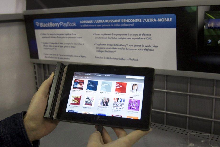 La tablette PlayBook de RIM... (Photo: PC)