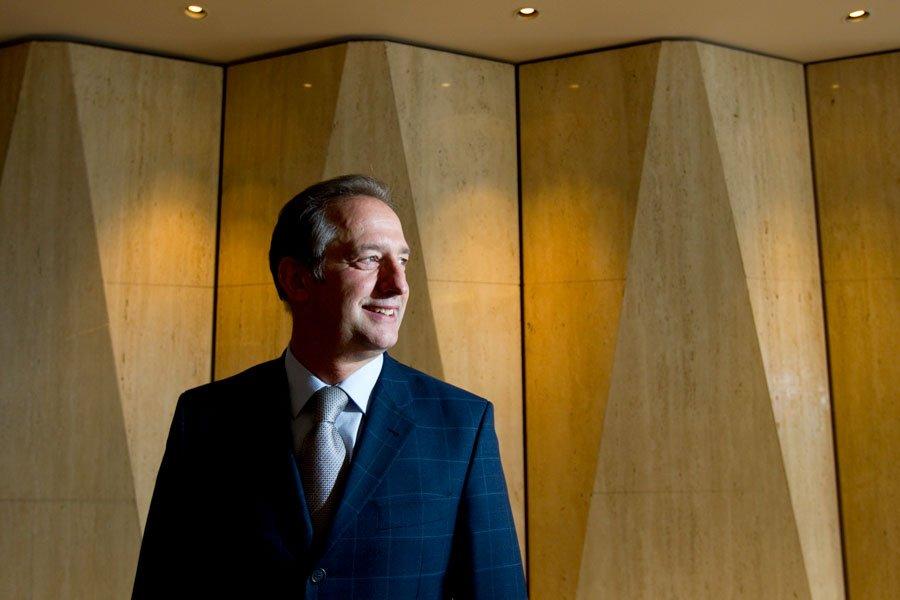 Philippe Calais, PDG d'Univalor... (Photo Alain Roberge, La Presse)