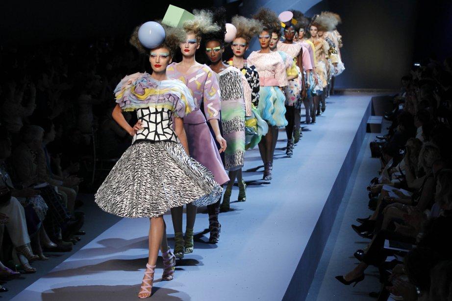 Défilé de la collection automne-hiver 2011-2012 de Dior.... (Photo: archives AFP)