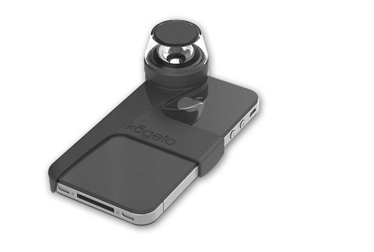 L'appareil Dot s'accroche à un iPhone et permet...