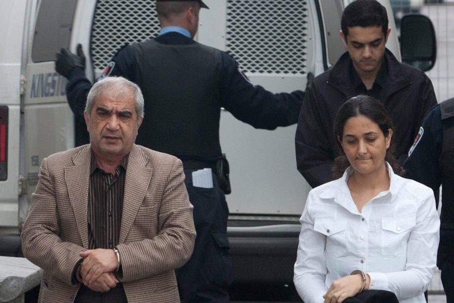Mohammad Shafia, son épouse Tooba et leur fils... (Photo: Lars Hagberg, PC)