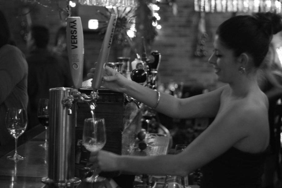 Du vin en fût!... (Photo: fournie par Versay)