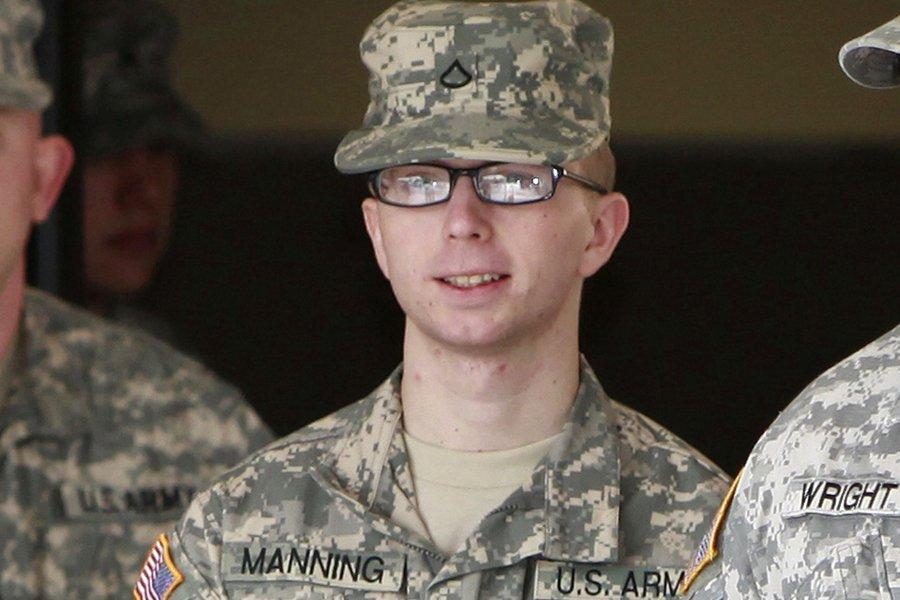 Le soldat Bradley Manning est accusé d'être la... (Photo: Reuters)