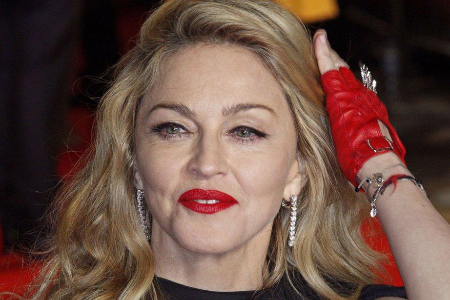 Il s'agira d'un premier album pour Madonna depuis... (Photo: AFP)