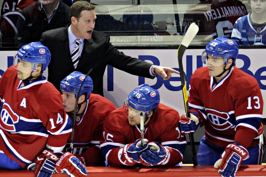 L'entraîneur Randy Cunneyworth n'a pas été ébranlé pas... (Photo: Bernard Brault, La Presse)