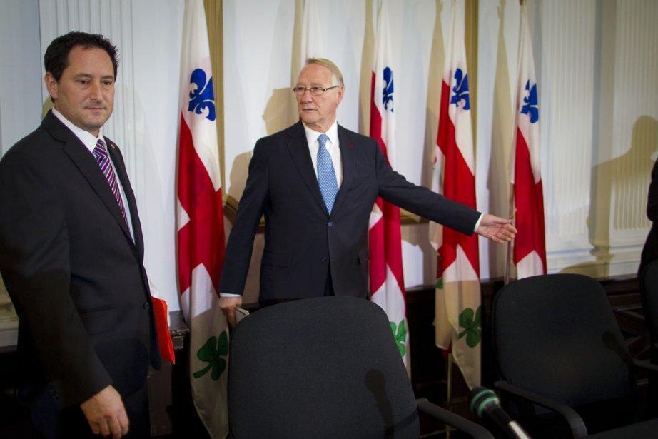 «On repart avec une feuille blanche, on est... (Photo: André Pichette, Archives La Presse)