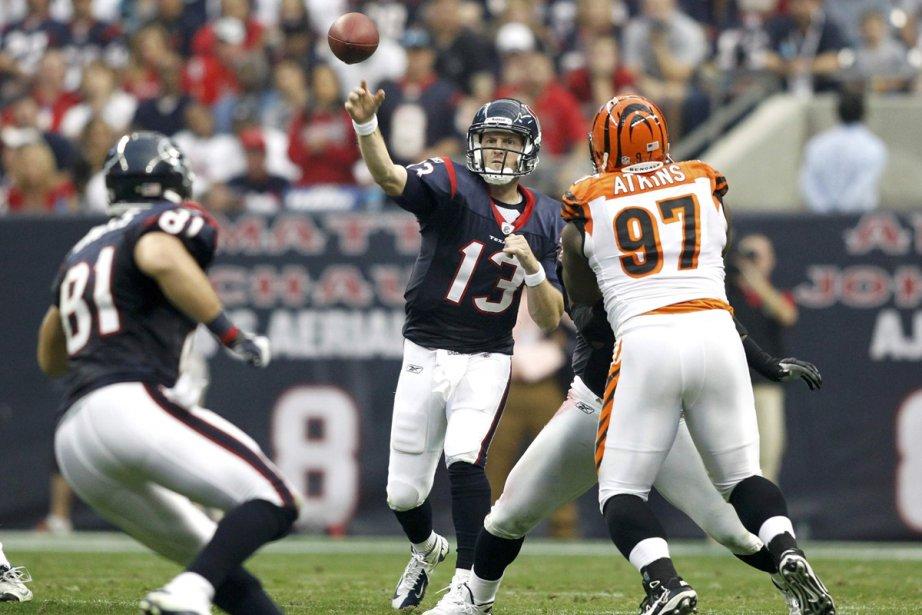 Les Texans, menés en attaque par le réserviste... (Photo: Mike Stone, Reuters)