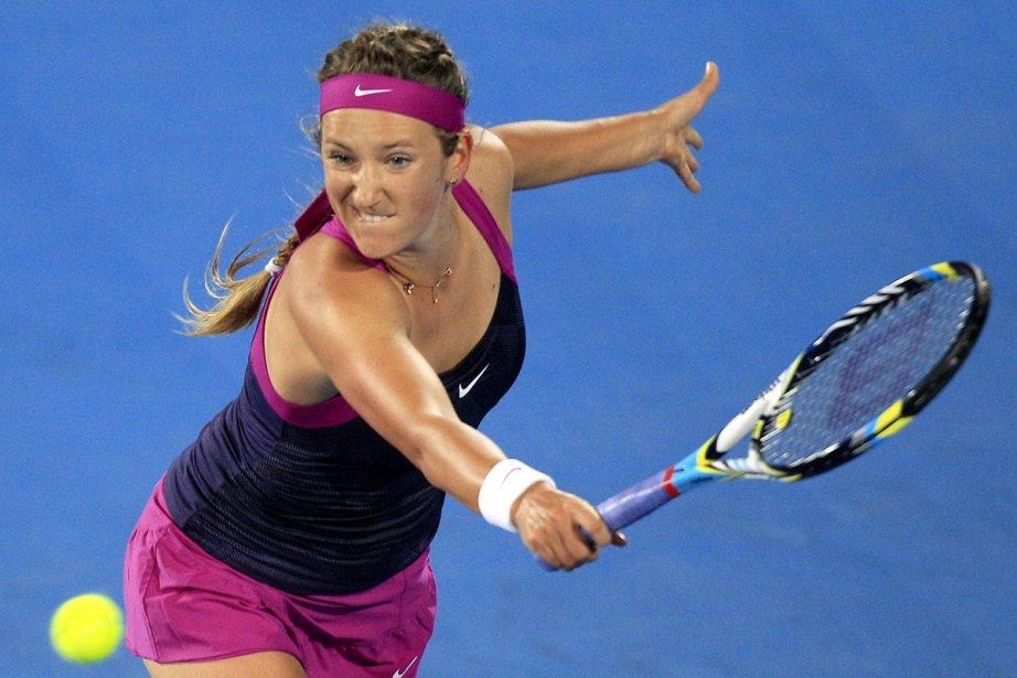 Victoria Azarenka a remporté à 22 ans son... (Photo: Rick Rycroft, Associated Press)