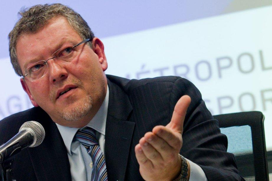 Joël Gauthier étaitprésident de l'Agence métropolitaine de transport... (Photo: Hugo-Sébastien Aubert, Archives La Presse)
