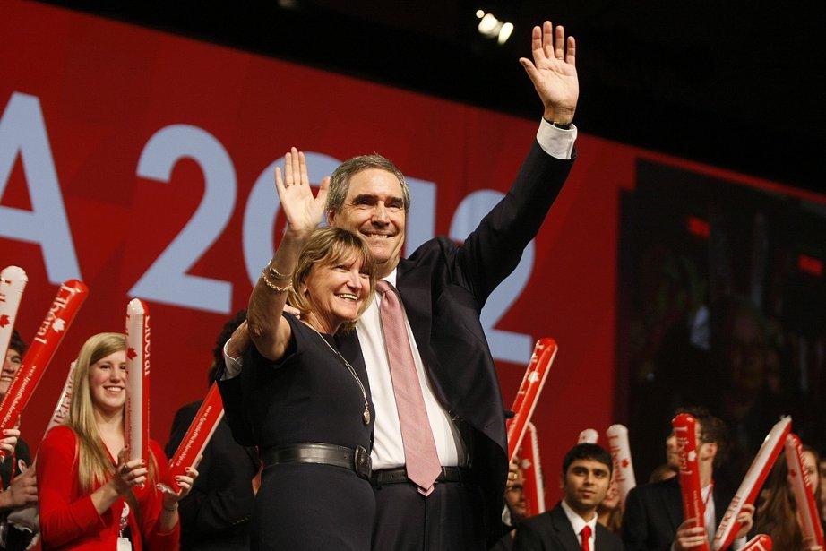Michael Ignatieff et sa femme Suzanna Zsohar.... (Photo: Étienne Ranger, LeDroit)