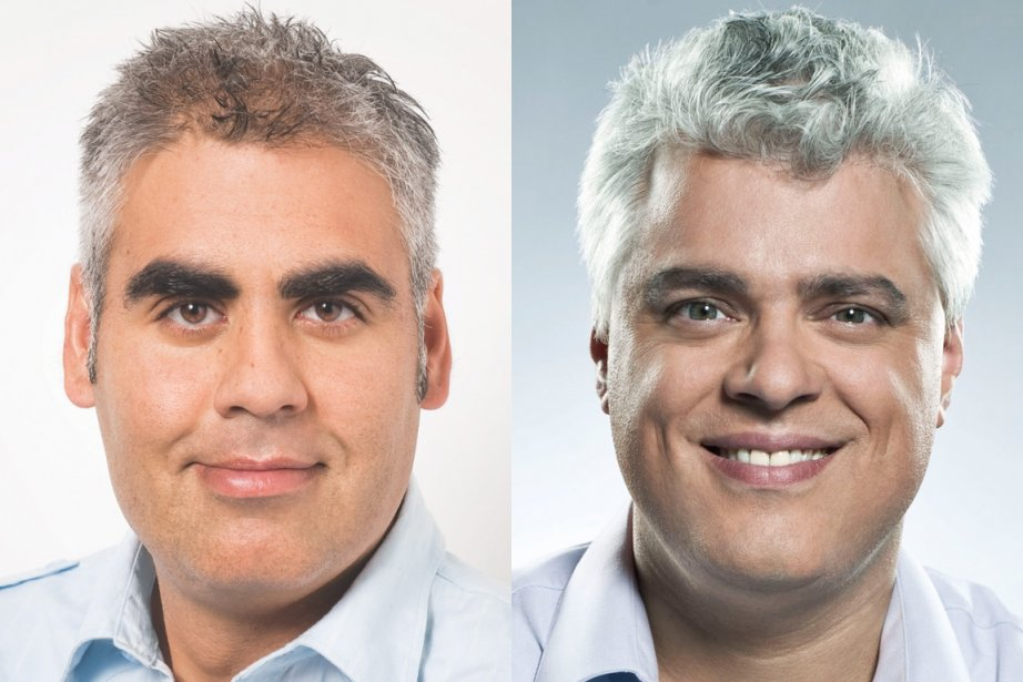 François Rebello et Philippe Marcoux... (Photo: PQ/Radio-Canada)